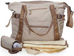 Чанта за детска количка - Fashion - Комплект с подложка за преповиване, термобокс и органайзер - продукт