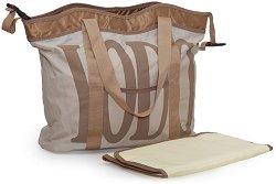 Чанта - Stylish - Аксесоар за детска количка с подложка за преповиване -