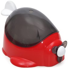 Червено детско гърне - Самолет - гърне