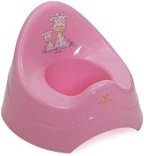 Розово детско гърне - Giraffe -