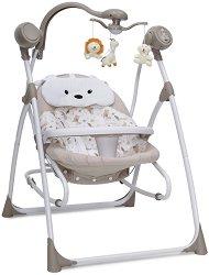 Бебешка люлка 2 в 1 - Swing Star - С мелодии и светлини -
