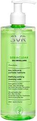 """SVR Sebiaclear Micellar Water - Мицеларна вода за мазна кожа от серията """"Sebiaclear"""" - крем"""