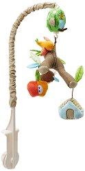 """Музикална въртележка - Горски приятели - Играчка за бебешко креватче от серията """"Treetop Friends"""" -"""