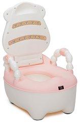 Розово детско гърне с капак - Booboo - продукт