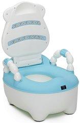 Синьо детско гърне с капак - Booboo - продукт
