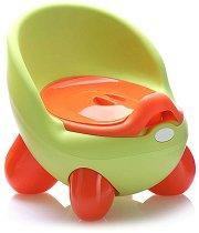 Зелено детско гърне с капак - Throne - продукт