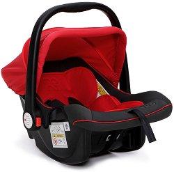 Бебешко кошче за кола - Luna: Red - За бебета от 0 месеца до 13 kg -