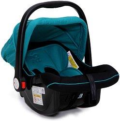 Бебешко кошче за кола - Luna: Turquoise - За бебета от 0 месеца до 13 kg - столче за кола