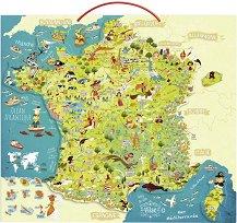 Магнитен пъзел - Франция - Оливер Хюет  (Oliver Huette) - пъзел
