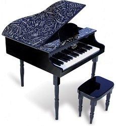 Дървен роял - Детски музикален инструмент -