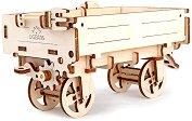 Ремарке за трактор - Механичен 3D пъзел -