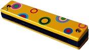 Хармоника - Детски дървен музикален инструмент - творчески комплект