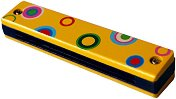 Хармоника - Детски дървен музикален инструмент - играчка