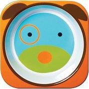 """Купичка за хранене - Кученце - За бебета над 6 месеца от серията """"Zoo"""" -"""