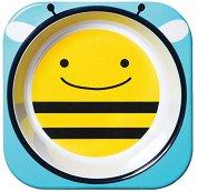 """Купичка за хранене - Пчеличка - За бебета над 6 месеца от серията """"Zoo"""" -"""