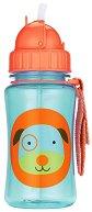 """Неразливаща се чаша - Кученце: 350 ml - За бебета над 12 месеца от серията """"Zoo"""" -"""