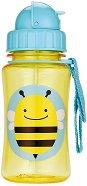 """Неразливаща се чаша - Пчеличка: 350 ml - За бебета над 12 месеца от серията """"Zoo"""" -"""