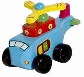 Вертолет - Дървена играчка - играчка
