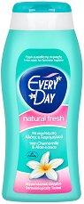 EveryDay Natural Fresh Intim Wash - Интимен гел с екстракти от лайка и алое вера за ежедневна употреба - крем