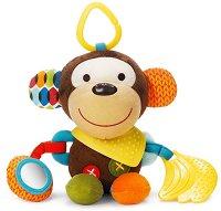 Маймунка - Bandana Buddies - Мека играчка за бебешка количка или легло -