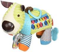 Кученце - Bandana Buddies - Мека играчка за бебешка количка или легло -