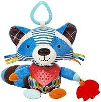 Енот - Bandana Buddies - Мека играчка за бебешка количка или легло -