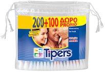 Tipers - Клечки за уши в опаковка 200 + 100 броя - дамски превръзки