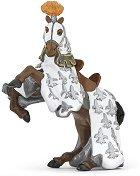 """Конят на принц Филип в бели одежди - Фигура от серията """"Рицари"""" -"""
