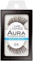 """Aura Power Lashes Miaou Miaou 04 - Мигли от естествен косъм от серията """"Power Lashes"""" - продукт"""