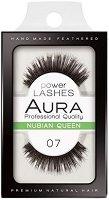 """Aura Power Lashes Nubian Queen 07 - Мигли от естествен косъм от серията """"Power Lashes"""" - продукт"""