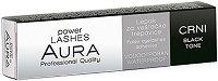 "Aura Power Lashes Adhesive Waterproof - Black - Черно водоустойчиво лепило за изкуствени мигли от серията ""Power Lashes"" - спирала"