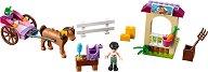 """Конната каляска на Стефани - Детски конструктор от серията """"LEGO Juniors"""" -"""