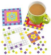 Декорирай сам - Поставки за чаши - Творчески комплект - играчка