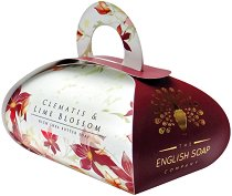 English Soap Company Clematis & Lime Blossom Large Bath Soap - душ гел