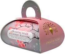 English Soap Company Oriental Spice & Cherry Blossom Large Bath Soap - балсам