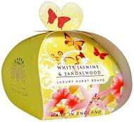English Soap Company White Jasmine & Sandalwood Luxury Guest Soaps - Опаковка от 3 x 20 g сапуни с аромат на бял жасмин и сандалово дърво -
