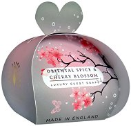 English Soap Company Oriental Spice & Cherry Blossom Luxury Guest Soaps - Опаковка от 3 x 20 g сапуни с аромат на ориенталски подправки и черешов цвят -