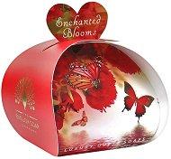English Soap Company Enchanted Blooms Luxury Guest Soaps - Опаковка от 3 x 20 g сапуни с флорален аромат -