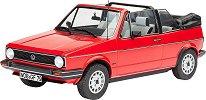 Автомобил - VW Golf 1 Cabriolet - Сглобяем модел -