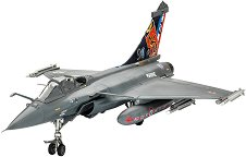 Военен самолет - Dassault Rafale M - Сглобяем авиомодел -