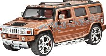 Джип - Hummer H2 - Сглобяем модел -