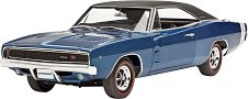 Автомобил - Dodge Charger R/T 1968 - Сглобяем модел - макет