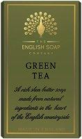English Soap Company Green Tea Bath Soap - Луксозен сапун с аромат на зелен чай - сапун