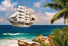 Плаване в тропиците - пъзел