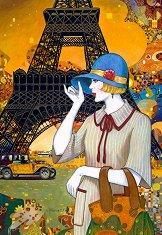 Улиците на Париж - пъзел