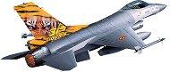 Военен самолет - Lockheed Martin F-16 Mlu TigerMeet - Сглобяем авиомодел - макет