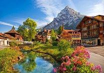Кандерштег, Швейцария - пъзел