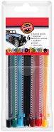 Цветни механични моливи - Комплект от 6 или 12 цвята с острилка