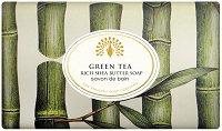 English Soap Company Green Tea Bath Soap - Луксозен сапун с аромат на зелен чай -