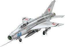 Военен самолет - МиГ-21 F/13 Fishbed C - Сглобяем авиомодел -